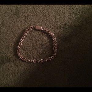 Jewelry - Sterling Silver Byzantine Bracelet